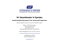 SCH�NEMANN & PARTNER | Steuerberater in Berlin-Spandau