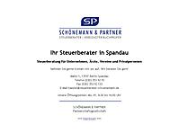SCHÖNEMANN & PARTNER | Steuerberater in Berlin-Spandau